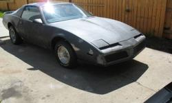 Year: 1982 Make: Pontiac Model: Trans Am Trim: T ? Tops Has the Following: 350 hp engine with Edelbrock Thunder S. Carb Crane cam and lifters Wiend high rise intake Cloys double roller chain ARP bolts Black Jack ?shorty? headers Electric fan Moroso Gold
