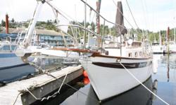 "A West Coast classic! Her dual helms provide options for warm and dry, year-round exploring of the coast. This is a one-owner vessel. Built by DeKleers of Richmond, BC as a hull and deck and custom finished for her owners. ""Perpetuity"" offers tonnes of"