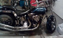 1987 Harley Davidson 80 cubic inch softail custom 10,000 obo. Trades are welcome