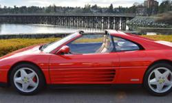 Make Ferrari Colour Red Trans Manual kms 23327 1990 Ferrari 348 TS by Pininfarina Chassis no. 03799 Engine no. 24020 *Offered for the first time from the Gain Collection The Ferrari 348 marked a distinct departure from the 328 and 308 that preceded it,