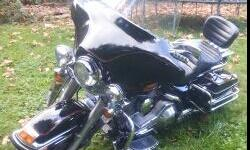 In excellent condition 1990 flhs. Ready to go, don't want to sell love the bike.