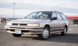 Make Subaru Model Legacy Wagon Year 1990 Colour gold kms 300000 Trans Automatic This car has been my regular driver for the last 3 years and it's been great to me. Sure she's a little rough around the edges. Maybe she has a bit of a stutter sometimes. Of