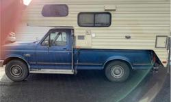 Make Ford Model F-250 Year 1991 Colour Blue kms 178485 Trans Automatic Price: $4,999 Stock Number: 1223 VIN: 2FTEF25H2MC451223 Cylinders: 6 A 1991 FORD F-250 AND A CAMPER NOW THATS A DEAL NOT TO MENTION THE FACT THAT THE TRUCK COMES WITH A 2 YEAR ALMOST