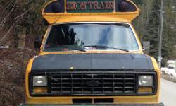 Make Ford Model 3500 Year 1991 Colour Yellow kms 300000 Trans Automatic Awesome bus for use as parts vehicle or guest cottage, shed, mini workshop. 7.3 idi diesel with 300000km still running great, transmission blown and dont have funds to replace