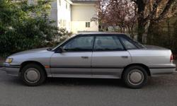 Make Subaru Model Legacy Colour SILVER Trans Automatic kms 213913 1992 SILVER SUBARU LEGACY -Runs great - automatic transmission -CD player & radio -Immaculate interior -Exterior body damage on the left side (not due to a collision) -Needs new fuses for