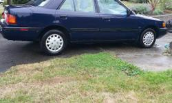 Make Mazda Model Protege Year 1993 Colour Blue kms 163000 Trans Automatic Four door Mazda, runs excellent. Great starter car.