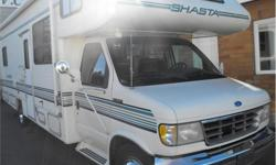Price: $19,988 Stock Number: I2195 Fuel: Gasoline 27' Class C with a island rear bed. Decent shape for age. Includes awning and air conditioning. Bright and spacious, good social area. Sleeps 6. 1-888-390-7780 Trade your RV, Car, Truck or Boat. We have