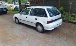Make Pontiac Model Firefly Year 1994 Colour White kms 178192 Trans Automatic 1994 firefly 3 cylinder 4 door hatchback Automatic cheep Transportation Running As is. engine rebuilt with less than 5000 km on it call to view