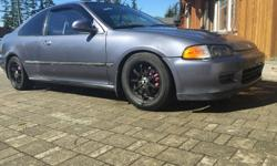 Make Honda Year 1994 Trans Manual kms 311000 I Want it gone make an offer** Very quick, sporty car. Tonnes invested by previous owner. Long list of aftermarket parts. Being sold as is. 1994 Manual Transmission 311xxx. On body under 50xxx on motor