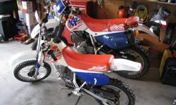 excellent bike, runs like a Honda! $1200.00 firm or $3700.00 and I'll throw in a matching  Xr650