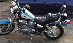 1994 yamaha virago 1100, fronk forks re-sealed, new front tire from this year and battery. Asking. 1900 neg This ad was posted with the Kijiji Classifieds app.