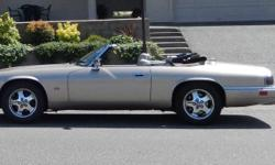 Make Jaguar Model XJS Year 1995 Colour Taupe kms 169000 Trans Automatic This treasure has 105,000 miles, (169,000 kms). Second owner. 4.0 liter inline overhead cam 6 cylinder engine. 4 speed overdrive transmission. Power seats, windows and door locks.