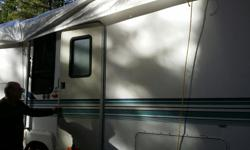 We have our 330SqFt 5th Wheel for sale. Very roomy , bright and comfortable. New 110 fridge, new queen mattress. Washer/dryer combo.