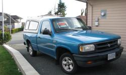 Make Mazda Model B-Series Pickup Year 1996 Colour Blue kms 290000 Trans Manual 1996 Mazda Pickup comes with canopy Model B3000, Single cab, runs well 6 cylinder Engine, manual 5 speed transmission 290,000 k/m.