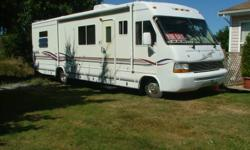 1997 30 ft Damon Daybreak RV on Chevrolet Chassis. This vehicle is in excellent mechanical and structural condition. Has new batteries and many extras. Low kilometers. Offers on $24,900