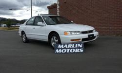 Colour WHITE Trans Automatic kms 348208 1997 HONDA ACCORD FULLY LOADED ...GREAT GRAD GIFT..COMES WITH FULL SAFETY INSPECTION ..DEALER#30638