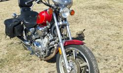 1997 yamaha 1100 virago,in good condition,runs good,has windsheild and saddle bags,bigger back rest added, asking $2500