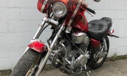 Year 1997 kms 52794 1997 Yamaha Virago 1100 Tuff City Powersports Ltd. 151 Terminal Ave Nanaimo, BC V9R 5C6 (250) 591-0415 9am - 5pm Tuesday -Friday 10am - 5pm Saturday Did you know that we buy bikes? We are always looking for clean used motorcycles and