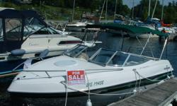 1998 Fourwinns Sundowner 205 with Galvanized Steel Trailer (Trailer a value of over 2000$ by itself, will not rust ! ) Excellent condition Cuddy cabin, Professionally maintained. Volvo Penta 5L engine with low hrs Includes 2 batteries,Tonneau cover,