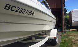 1950 BAYLINER CAPRI.3 LITRE MERCUISER,HALF TOP BOW COVER.THIS BOAT HAS BEEN WELL TAKEN CARE OF.ONLY BEEN IN FRESH WATER.HAS CLOSED COOLING SYSTEM.THIS BOAT PULLS GREAT,CAN RUN ALL DAY ON VERY LITTLE FUEL.RUNS TOP END 45MPH,TURN KEY BOAT,SUPER