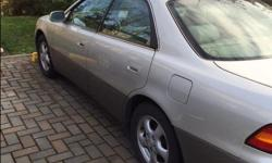Make Lexus Colour Silver Trans Automatic kms 157000 For Sale - 1999 Lexus ES300 - 2 local owners - Accident free - Low KM's for its year - Power sunroof, windows, locks, mirrors, seats, etc - Memory driver seats - Heated front seats - Automatic