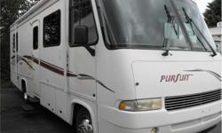 Price: $29,988 Stock Number: I2150 Fuel: Gasoline Here is a Ford powered Class A Motor Home. It features a lot of closet/storage space and has an Island rear bed. Includes awning, air conditioning, microwave and generator.1-888-390-7780 We have