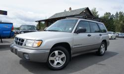 Make Subaru Model Forester Colour GREY Trans Manual kms 227234 2.5L 4 CYLINDER ENGINE, GREAT CONDITION, ALL BRAND-NEW TIRES, LEATHER HEATED SEATS, 5-SPEED STANDARD TRANSMISSION, 227,234 KM'S, GREY EXTERIOR WITH GREY INTERIOR, POWER WINDOWS, POWER DOOR