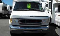 Price: $29,988 Stock Number: I2178 Fuel: Gasoline 1999 Ford E350 Class B+ Motorhome by Vanguard Jackknife sofa, booth dinette, wardrobe, overhead cabinets Kitchen area w/fridge/freezer, sink, 3-burner stove, microwave All-in-one bathroom w/shower, toilet,