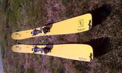 Wailer 112RP Hybrid: fiberglass + carbon + bamboo, Mounted with TLT Radical FT 110/130mm Binding