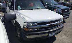 Make Chevrolet Model Tahoe Year 2000 Colour White kms 314610 Price: $4,995 Stock Number: M8-3166A Interior Colour: Grey Cylinders: 8 Fuel: Gasoline If this vehicle fits you're driving needs please give us a call for a test drive. We are the largest used