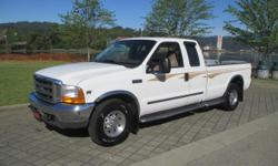 Make Ford Colour WHITE Trans Automatic kms 125630 Very nice F-350 pickup is ready for where the road takes you! Perfect for pulling your 5th wheel, already has the hitch included! Comes with steel storage boxes and a lot of great features too! Very well