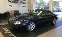 Make Jaguar Model XK Year 2000 Colour Blue with Tan Leather kms 101600 Trans Automatic Looking for that summer only cruiser or a year around car, might need a bit of interior work but buying a car like this for so little it can all be fixed up nice. If