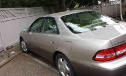 Make Lexus Model ES 300 Year 2000 Colour Hon kms 140000 Selling this beautiful 2000 Lexus as we don't need two vehicles in this city. Fantastic smooth ride. Well maintained. Regular oil changes. Regular maintenance. Great on gas. Needs nothing. Open to