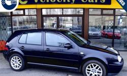 Make Volkswagen Model Golf Year 2000 Colour Black kms 79278 Trans Automatic Price: $6,490 Stock Number: 1041 Interior Colour: Black Fuel: Gasoline 1 YEAR WARRANTY INCLUDED IN PURCHASING PRICE Low Mileage/Kilometres: 79,278km Warranty coverage applies