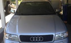 Make Audi Colour Silver Trans Manual Beautiful car inside and out. Well maintained and cared for. 3rd owner, has had very low Kms over the past 8 years, 24000km. Always has had premium gasoline. Always garage kept until last year when it's moved to a