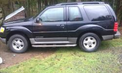 Make Ford Colour black Trans Automatic very nice straight suv brand new upgraded timing cains,guides,tensioners,brakes are brand new ,calipers,rotors,pads,master cyl,tires are very good, new tune up,wires ,coil,lots of life left in it now that timing