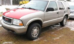 Make GMC Model Jimmy Colour Gold Trans Automatic kms 194867 2001 Gmc Jimmy in great shape from Alberta.V6 4.3 auto has all power options.Has new michelin tires, many new parts , Inspected drives great, Cheap reliable 4x4 that works perfect. Asking