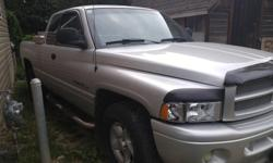 Make Dodge Model Ram 1500 Year 2001 Colour SILVER kms 242000 Trans Automatic MECHANICS SPECIAL $1700 dual flowmaster exhaust system. Brand new front and back brakes. New sport headlights. Lots of new parts. Has bed liner. Runs, but transmission is