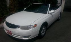 Trans Automatic Come on down to our change of ownership Sale June-July 31st -2001 Toyota Solara -Convertible top -Well Maintained -Power Windows -Power locks -Air conditioning -160,000 km -Power Trunk -Automatic transmission -$6450 O.B.O Located at 480