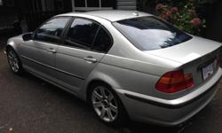 Make BMW Year 2002 Colour Silver Trans Automatic kms 194 2.5 L V6 Unreal on gas Fully loaded Leather interior New tires for winter Sunroof 4 door Need A truck for work Runs great