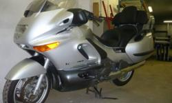 2002 BMW K1200LT.  Less than 44,000 Km and has all the toys.