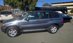 Make BMW Model X5 Year 2002 Trans Automatic kms 157987 2002 BMW X5 3.0L SUV Steptronic transmission, AWD, leather, all power options, A/C,, local second owner car and serviced by us. Excellent condition, new tires, Heated seats, S/R, xenon Headlights,