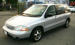 """Make Ford Year 2002 Colour SILVER METALLIC Trans Automatic kms 166000 *** VERY CLEAN VAN !! WINDSTAR """" SPORT VAN """" !! *** This is a very nice clean 7-passenger MINI-VAN , LOW KMS !! ONLY ....166,000 KMS !! Has all the power options and COLD"""