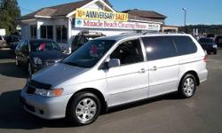 Make Honda Model Odyssey Year 2002 Colour Silver kms 215935 Trans Automatic Come check out this 2002 Honda Odyssey EX-L loaded with features for the low price of $5,995. Lots of room for the family or the team plus it includes a tow package, alloy wheels,