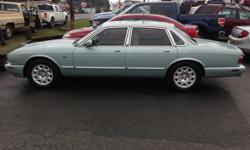 Make Jaguar Model XJ8 Year 2002 Colour Seafrost green kms 188921 Trans Automatic 2002 JAGUAR XJ8, 4DOOR, AUTOMATIC, IVORY LEATHER INTERIOR, REAR PARKING SENSORS, POWER WINDOWS LOCKS AND MIRRORS, AIR CONDITIONING, GORGEOUS CAR, CARPROOF SAFETY REPORT AND
