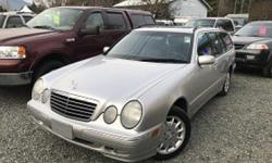 Make Mercedes-Benz Model E320 Year 2002 Colour Grey kms 121000 For more information or to schedule a viewing appointment please call, text 250-792-1201 or email sales@autobyoffer.com RARE WAGON !! with AWD Winter is coming.. These were the best Mercedes