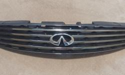 I have a front grill for 2003-2007 Infiniti G35 coupe. Excellent condition with the stock chrome and emblem. Sold the car and have this left over. First $60 takes it.