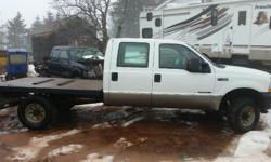 Make Ford Year 2003 Colour white Trans Automatic kms 372000 Reduced for quick sale! Great heavy duty truck only being sold as we've bought newer. 2003 Ford F350 Super Duty XLT 7.3 automatic diesel 4x4 for sale. Box has been replaced with a new custom