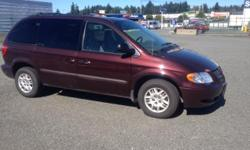 Make Dodge Model Caravan Year 2003 Colour Red kms 290000 Trans Automatic 2003 Dodge Caravan SXT Seven passenger mini van All highway kms, very well maintained Brand new tires, Van runs and drives great everything works as it should. Interior is in great