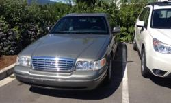 Make Ford Model Crown Victoria Year 2003 Colour Light brown kms 149000 2003 Ford Crown Victoria Excellent condition Local Car, non police car. Loaded with leather seats 4.6V8 RWD Power Driver & Passenger seats Power Adjustable pedals Automatic Climate